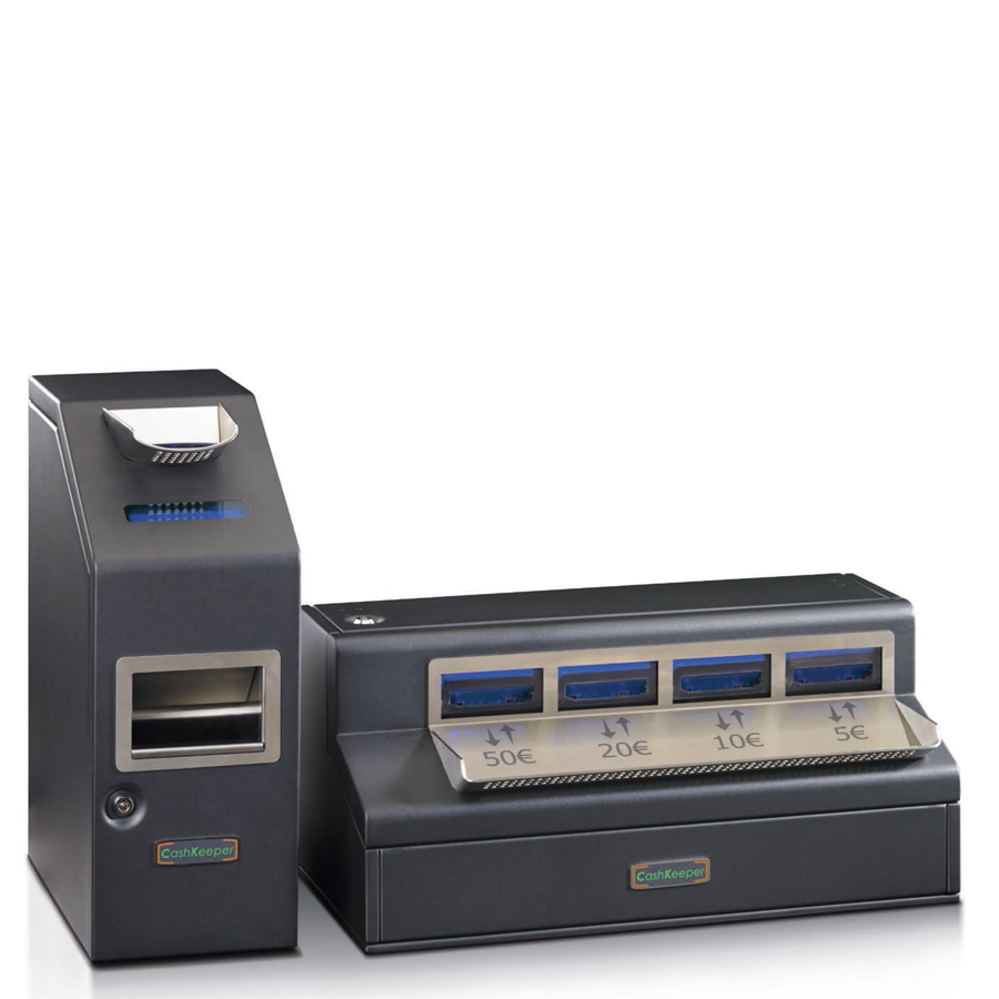 CashKeeper CK1000 - Cajón de Cobro Inteligente