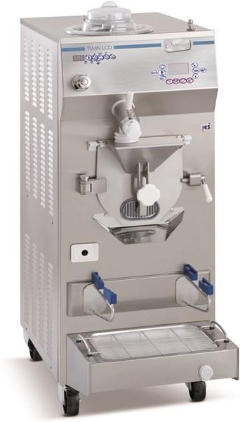 TWIN 35 LCD - MAQUINA COMBINADA: HERVIDOR/MANTECADORA FRIGOMAT CON PANTALLA LCD