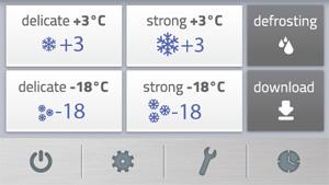 ICY L - Enfriador rápido Icy, hasta 27 bandejas 60x40cm o GN1/1