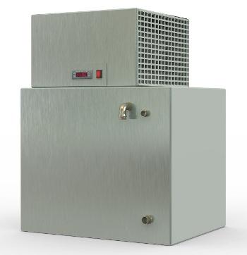 COLD L100F/C - ENFRIADOR DE AGUA RÁPIDO (Especial para panificación), Frío/Calor, con Intercambio frigorífico acelerado por agitador. MICÓ FRÍO INDUSTRIAL