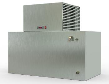 COLD L200F/C - ENFRIADOR DE AGUA RÁPIDO (Especial para panificación), Frío/Calor, con Intercambio frigorífico acelerado por agitador. MICÓ FRÍO INDUSTRIAL