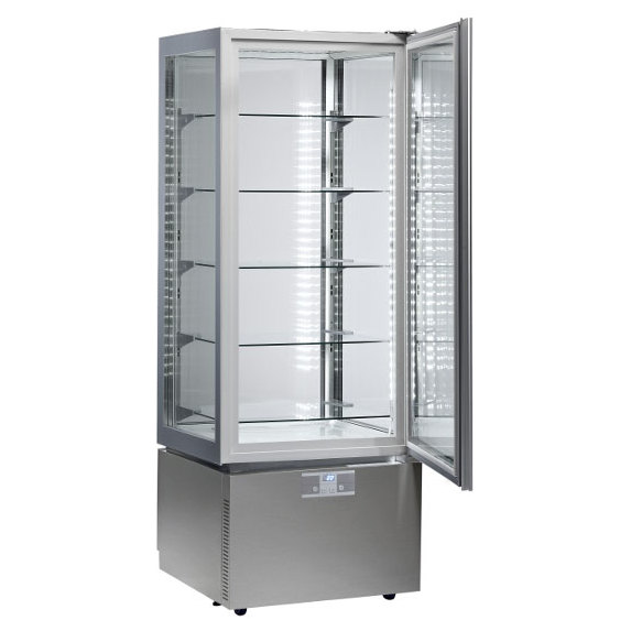 LUXURY RV SLIM GRAY - EXPOSITOR VERTICAL LUXURY DE REFRIGERACION VENTILADA