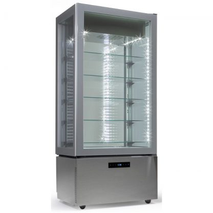 LUXURY RV SILVER - EXPOSITOR VERTICAL LUXURY DE REFRIGERACION VENTILADA