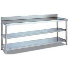 Mesas con 2 estantes