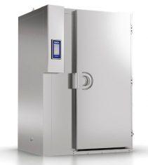 MF 100.2 - Enfriador rápido MultiFresh 100Kg, 1 carro x 20 bandejas 60x80cm, GN2/1 o 2 carros x 20 bandejas 60x40cm, GN1/1.Unidad condensadora remota.