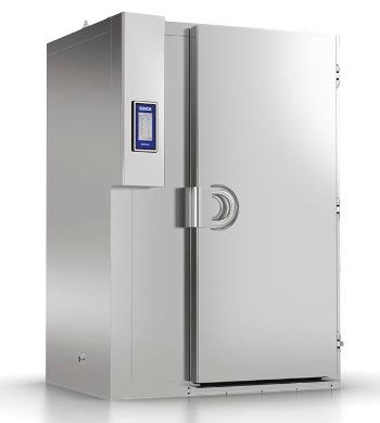 MF 250.2 PLUS - Enfriador rápido MultiFresh 250Kg, 1 carro x 20 bandejas 60x80cm, GN2/1 o 2 carros x 20 bandejas 60x40cm, GN1/1Unidad condensadora remota