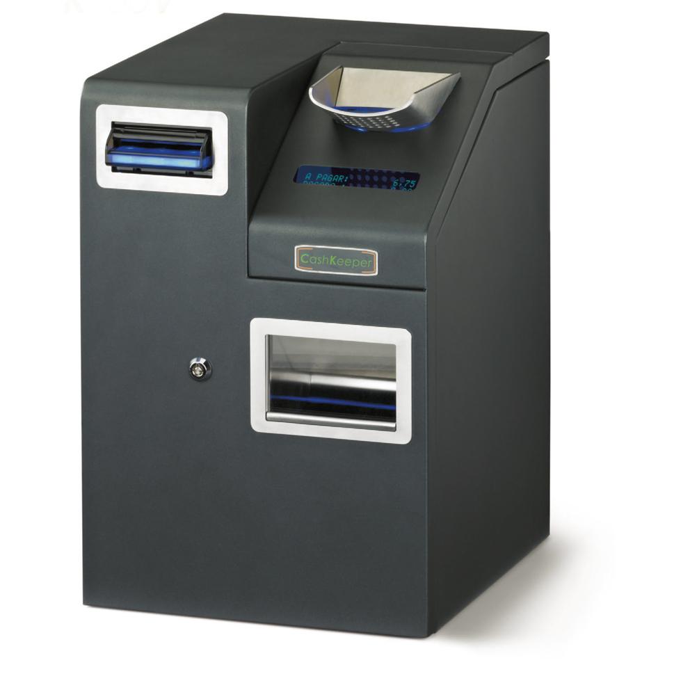 CashKeeper CK900 - Cajón de Cobro InteligenteEquipo compacto y multidivisa que aporta seguridad e higiene.