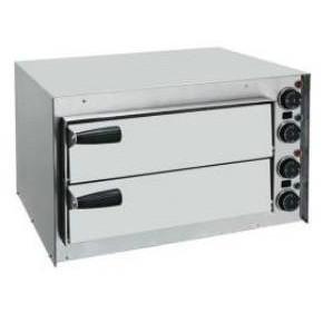 HOCAP2 - MINI HORNO PARA PIZZA DOBLE. Horno eléctrico diseñado para un uso intensivo y continuo en cualquier aplicación de restauración (pizzerías, restaurantes, cafeterías, etc.).