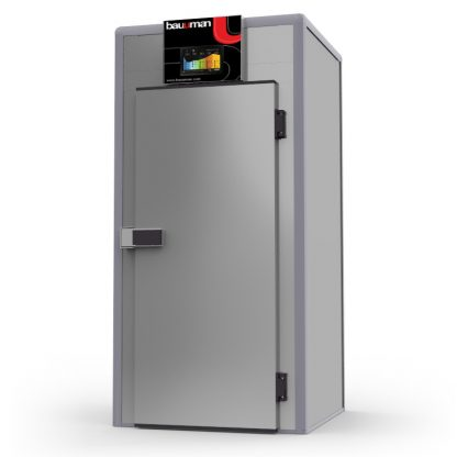 CFT.80-1P -112x118-E - Cámara de Fermentación Controlada Tecnológica Económica para 1 CARRO 60x80 (CARROS NO INCLUIDOS)