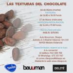 LAS TEXTURAS DEL CHOCOLATE