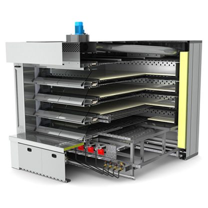 ENERGY - LFE - Hornos de pisos de vapor eléctricos