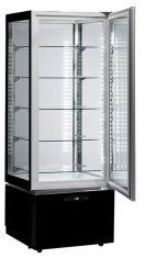 LUXURY RV SLIM BLACK - EXPOSITOR VERTICAL LUXURY DE REFRIGERACION VENTILADA, ANCHO 60cm