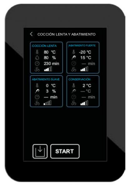 PROFESSIONAL ABF 27 MULTI - Abatidor Profesional Multifuncional (fermentación y cocción lenta) con pantalla táctil.